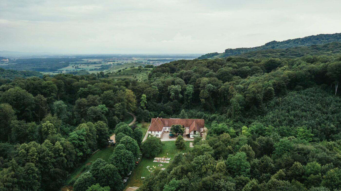 HofgutLilienhof Übersicht Drone 9 Klein 002