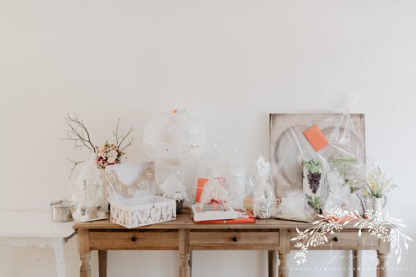 HofgutLilienhof Geschenketisch AnnaHuber wedding0428